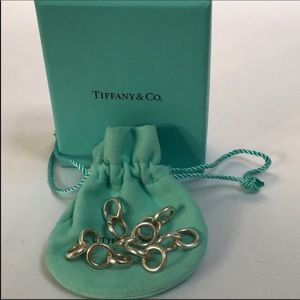 Jewelry - Tiffany clasping links x10 pieces